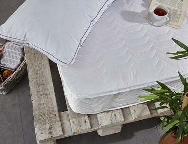 Komfort Home Tek Kişilik Yatak Koruyucu Alez 100x200CM (DTX) Renkli